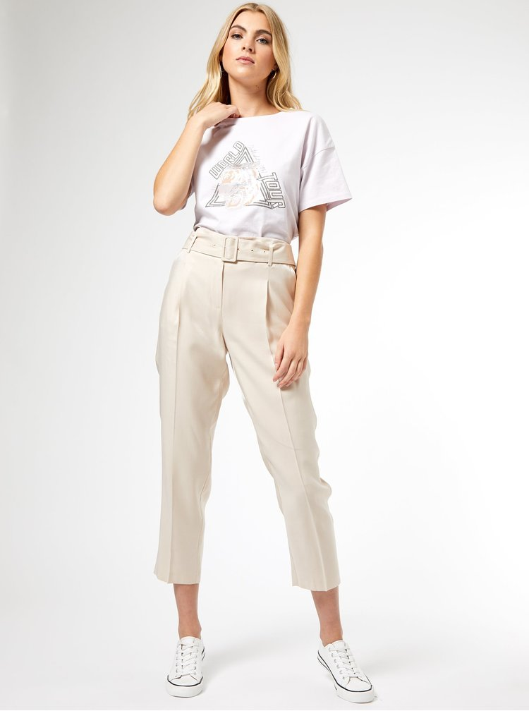Bílé tričko Dorothy Perkins