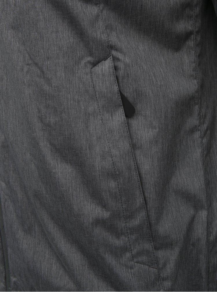 Šedá pánská voděodolná bunda Hannah Deplozo