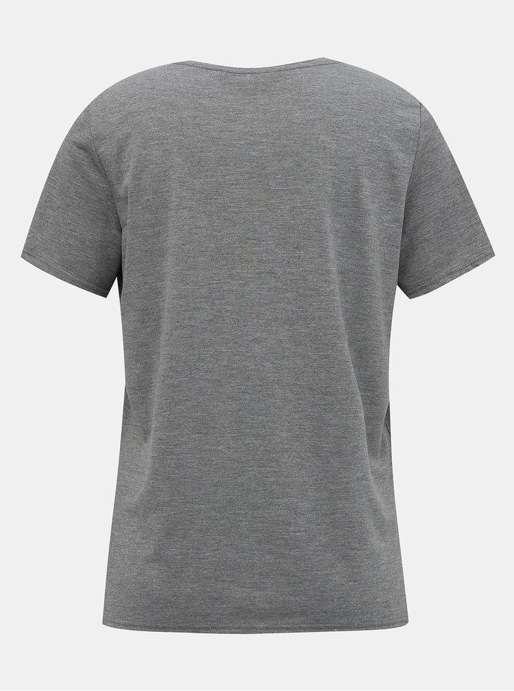 Šedé tričko Dorothy Perkins