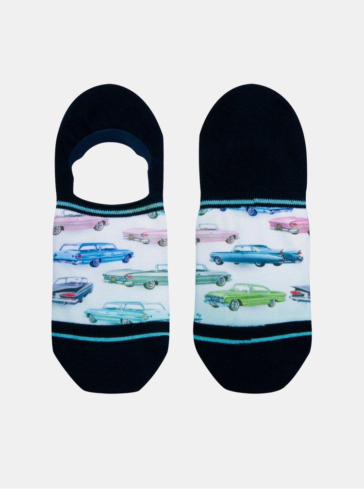 Čierne pánske nízke ponožky XPOOOS