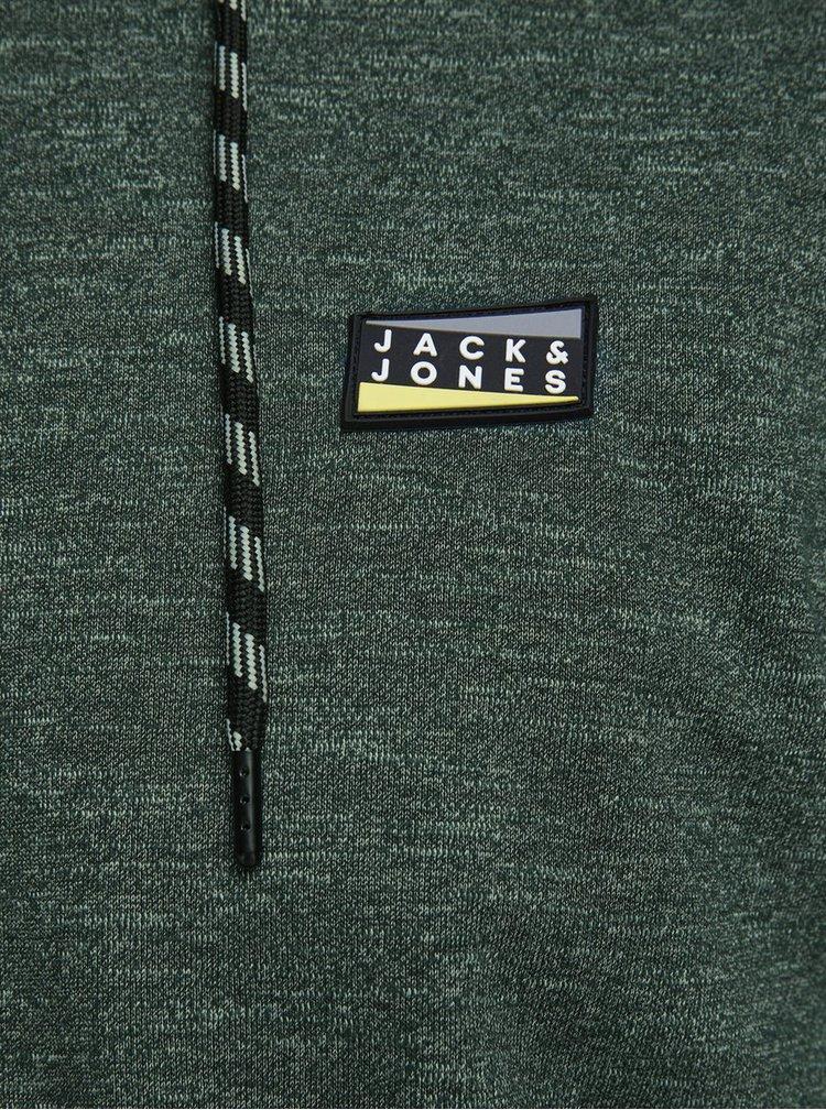 Tmavě zelená mikina Jack & Jones Colts