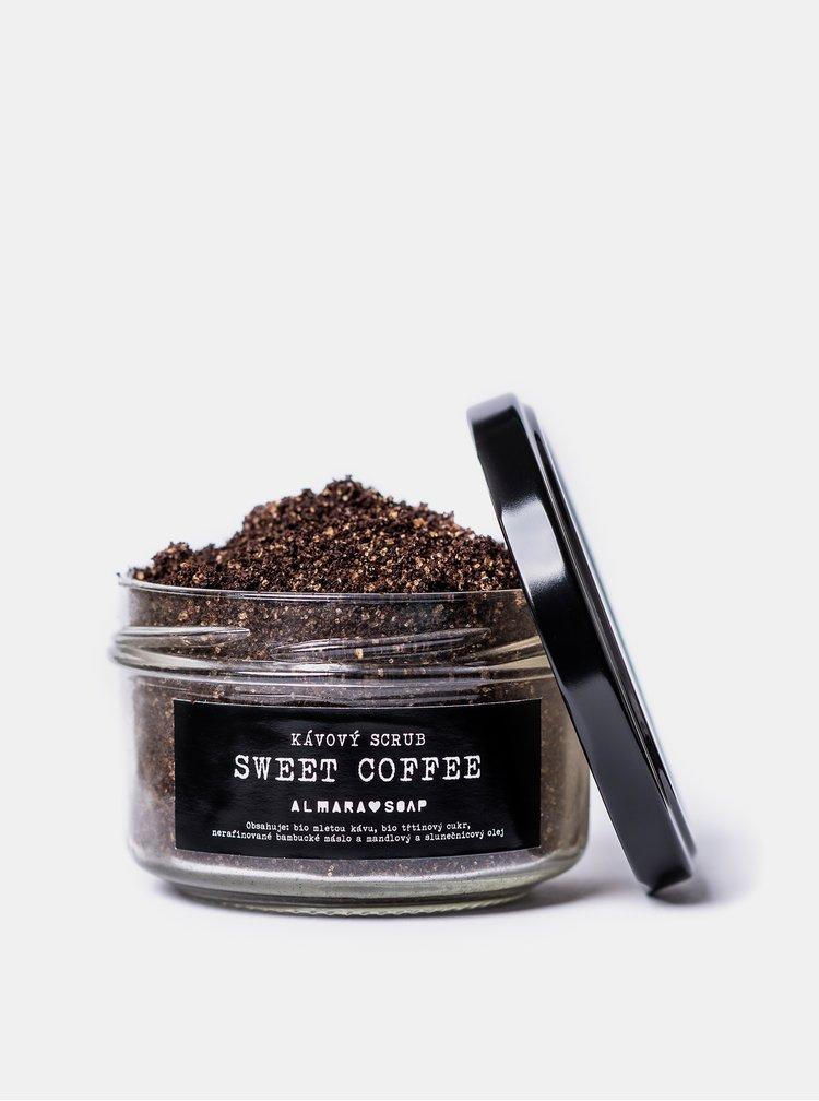 Kávový scrub na tělo i obličej Almara Soap Sweet Coffee