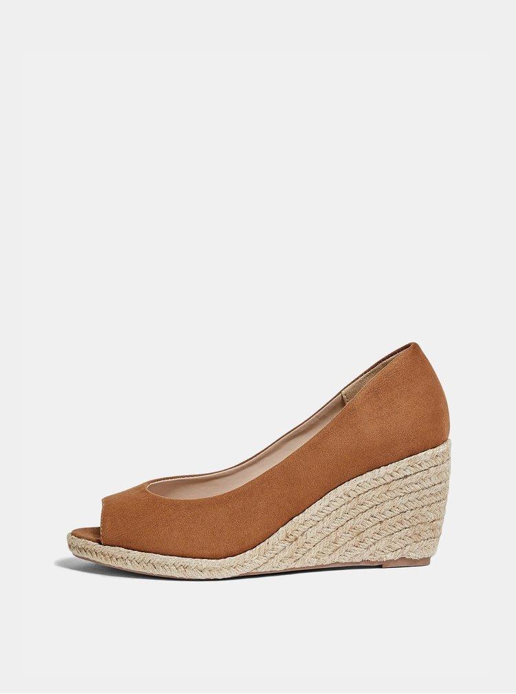 Pantofi cu toc pentru femei Dorothy Perkins - maro