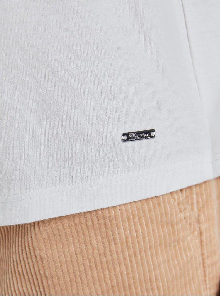 Tricouri pentru femei Tom Tailor Denim - alb