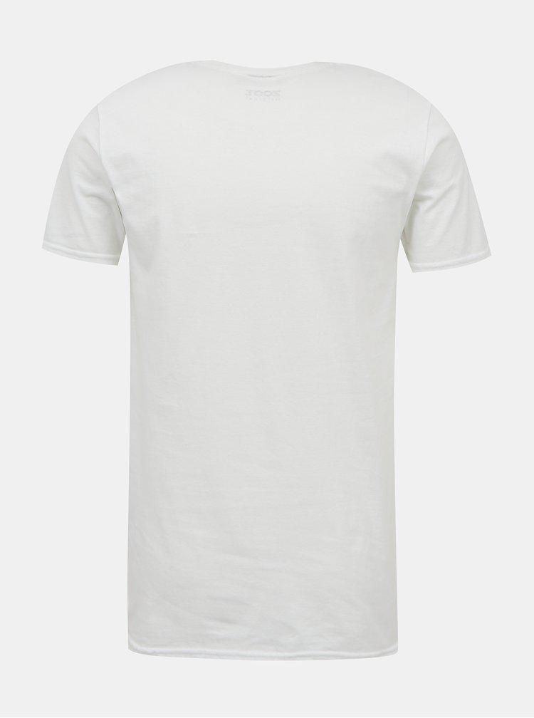 Bílé dámské tričko s potiskem ZOOT Original Ty si koleduješ