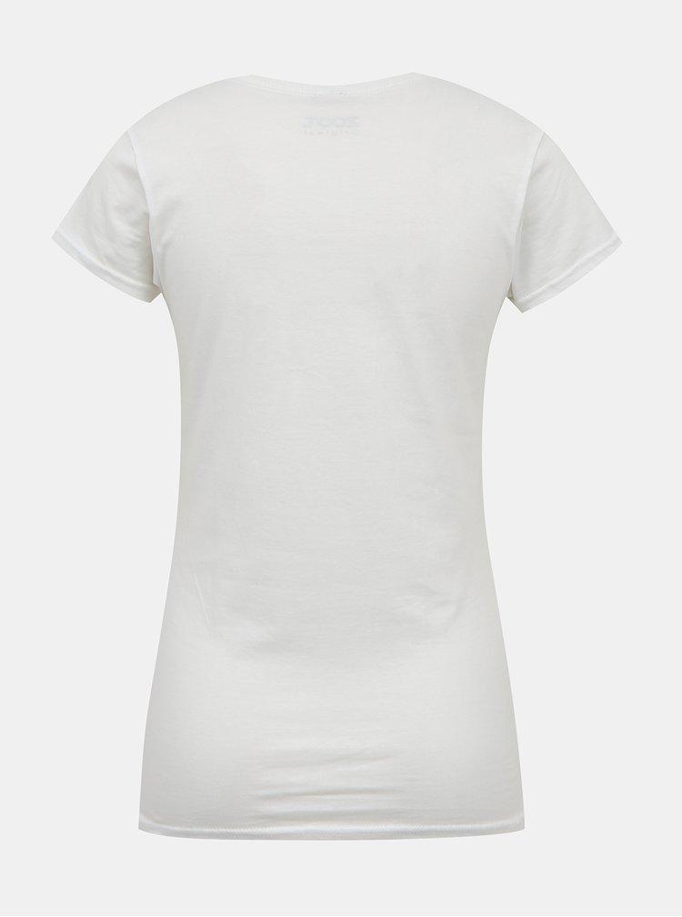Bílé dámské tričko s potiskem ZOOT Original Zajíček