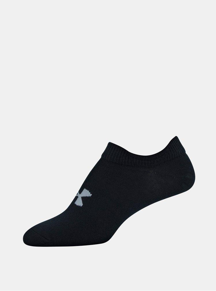 Sada šesti černých holčičích ponožek Essential Under Armour