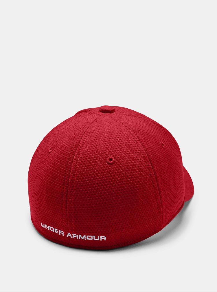 Červená klučičí kšiltovka Blitzing Under Armour