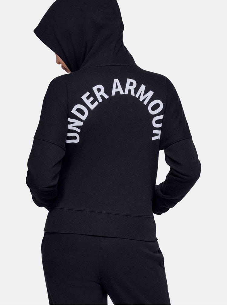 Černá holčičí mikina Rival Under Armour