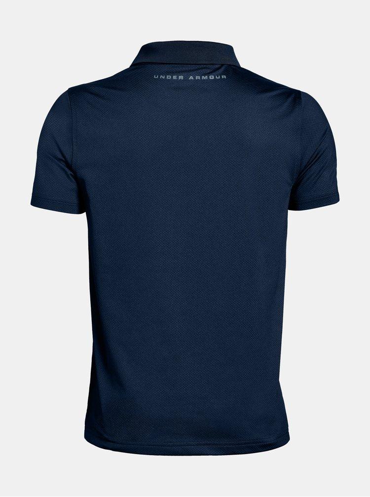 Modré klučičí tričko Performance Under Armour