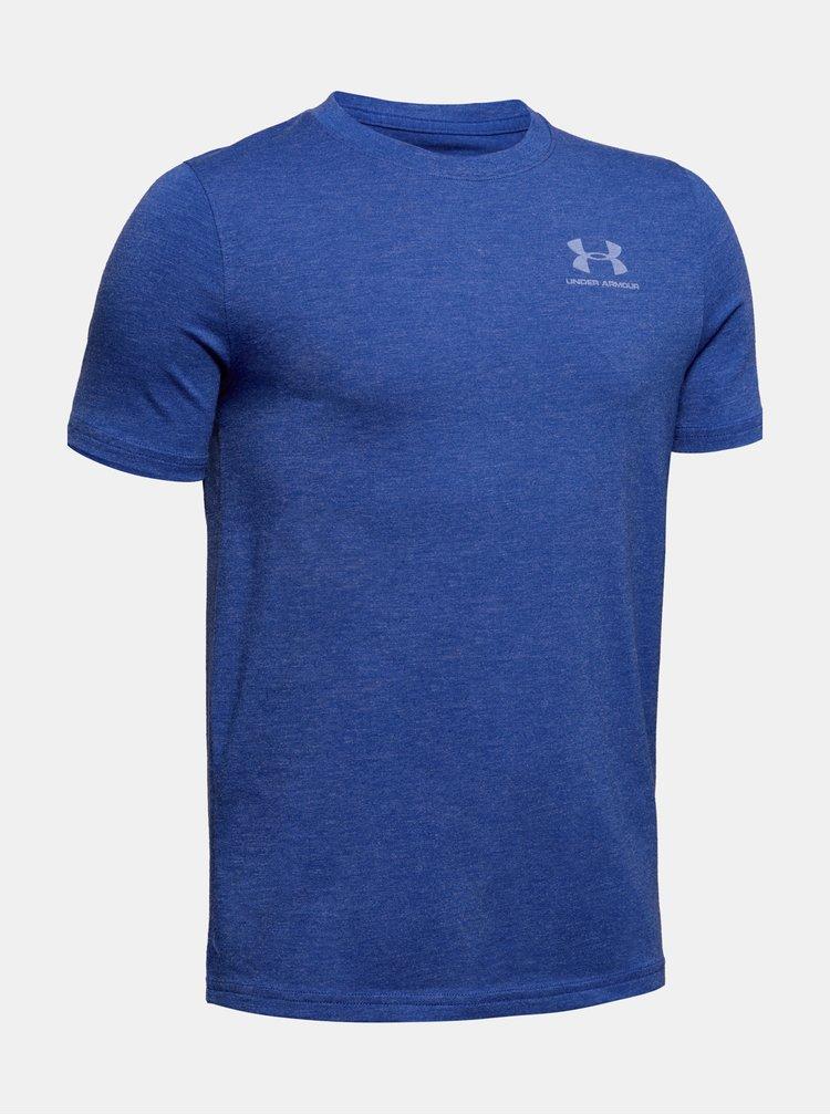 Modré klučičí tričko Under Armour