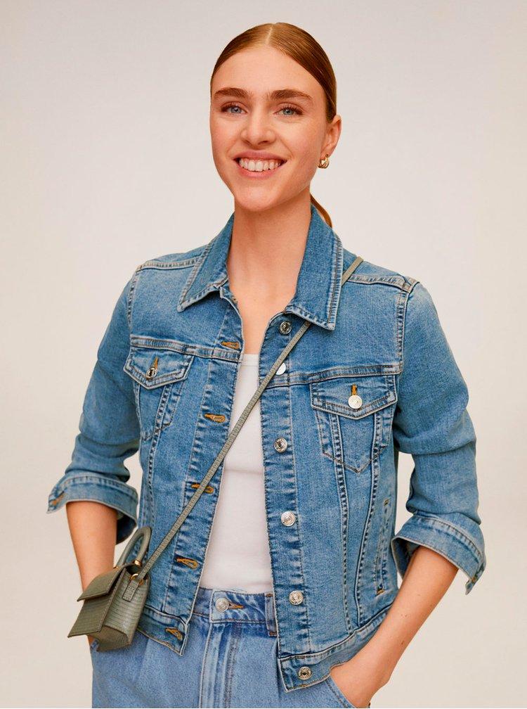Modrá džínová bunda Mango Vicky