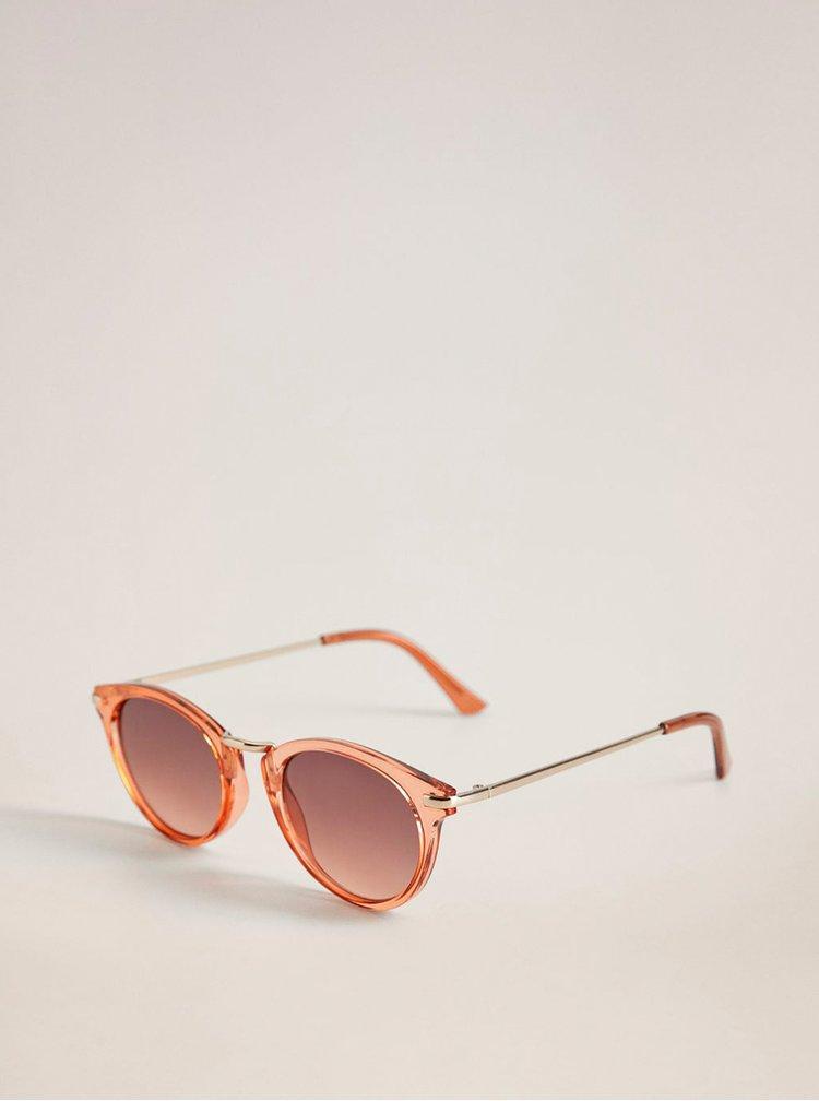 Růžové sluneční brýle Mango Aqua