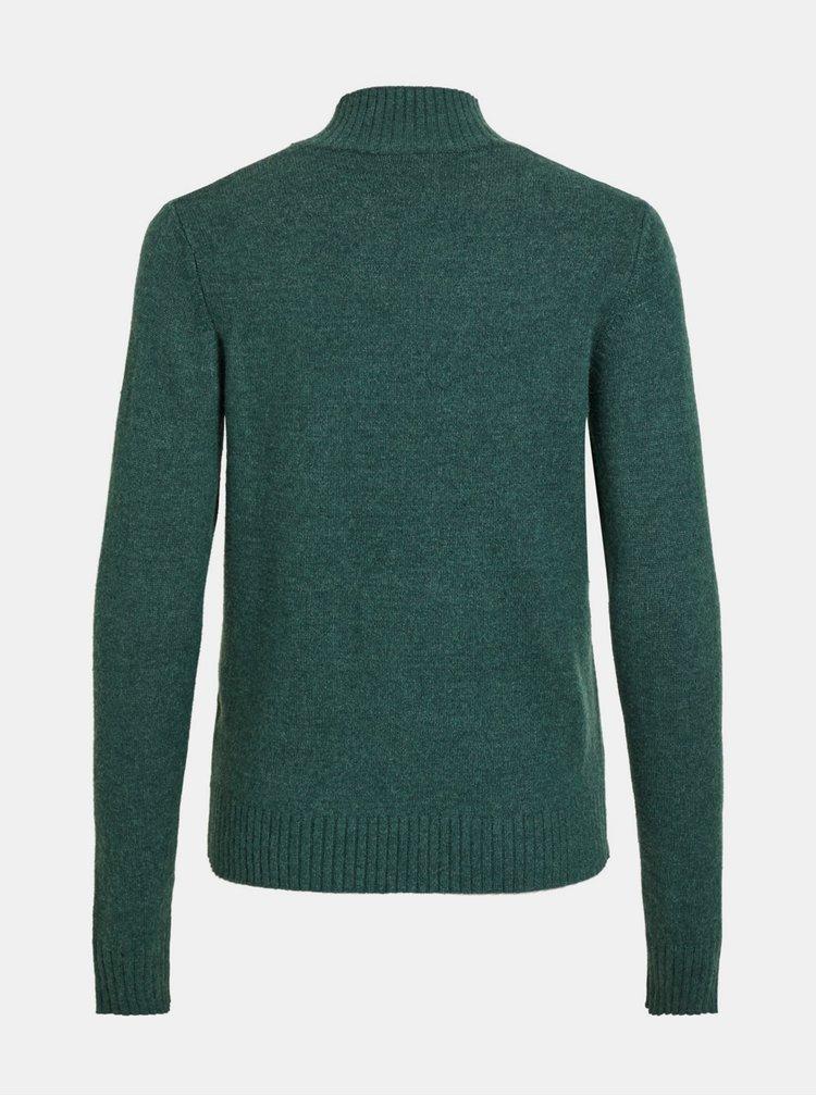 Tmavozelený sveter VILA