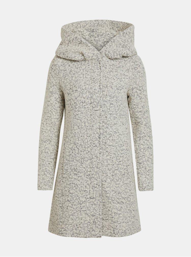 Krémový kabát VILA