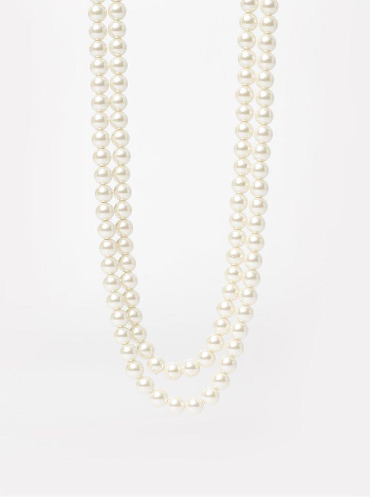 Krémový náhrdelník Something Special