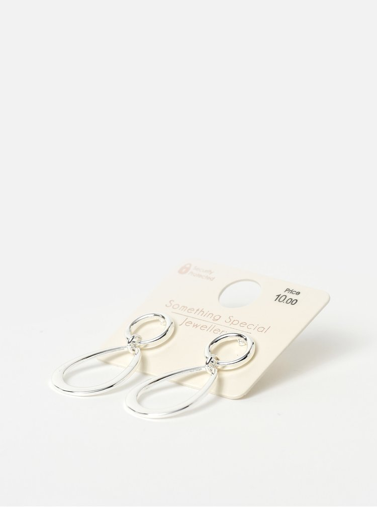 Náušnice ve stříbrné barvě Something Special