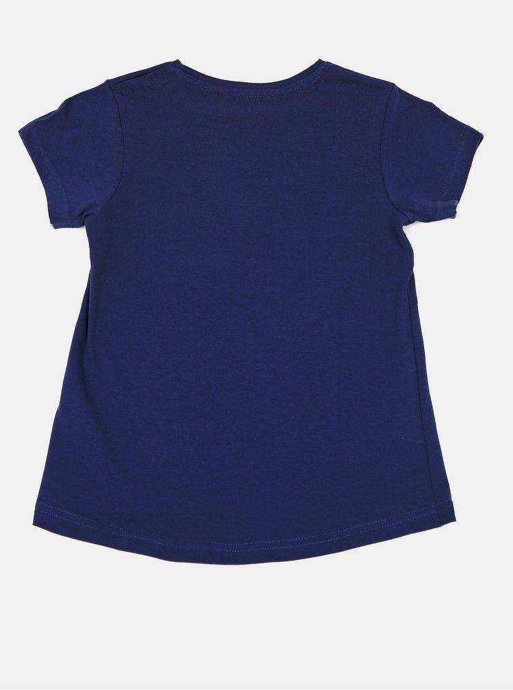 Tmavě modré holčičí tričko Blue Seven
