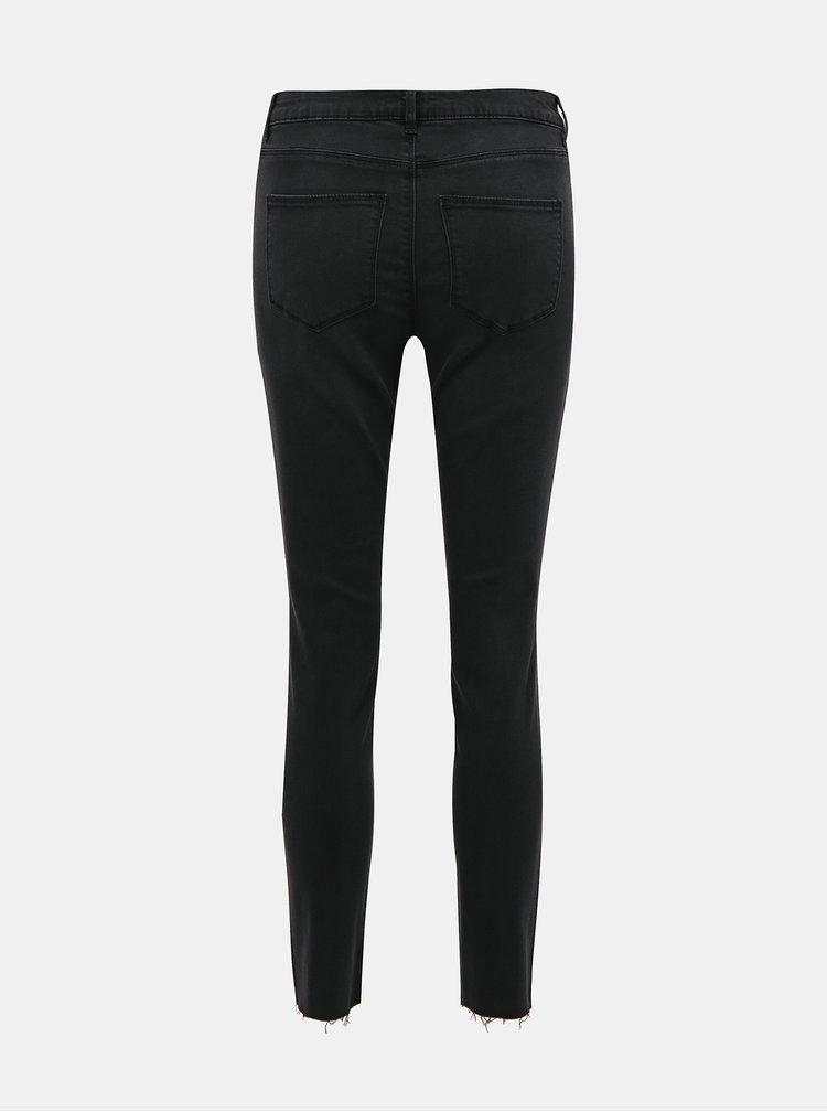 Černé slim fit džíny VILA