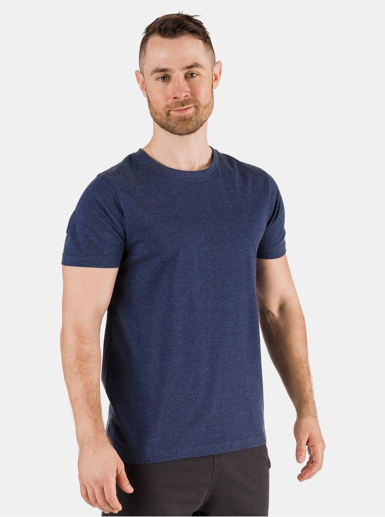Tmavě modré pánské basic tričko SAM 73