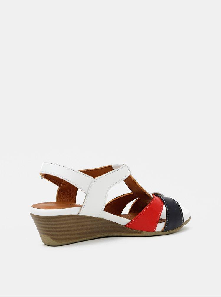 Sandale pentru femei WILD - alb, rosu