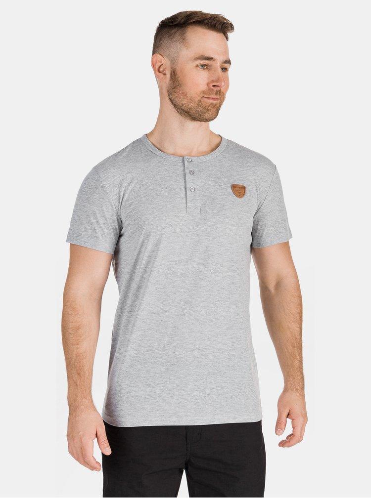Světle šedé pánské tričko SAM 73