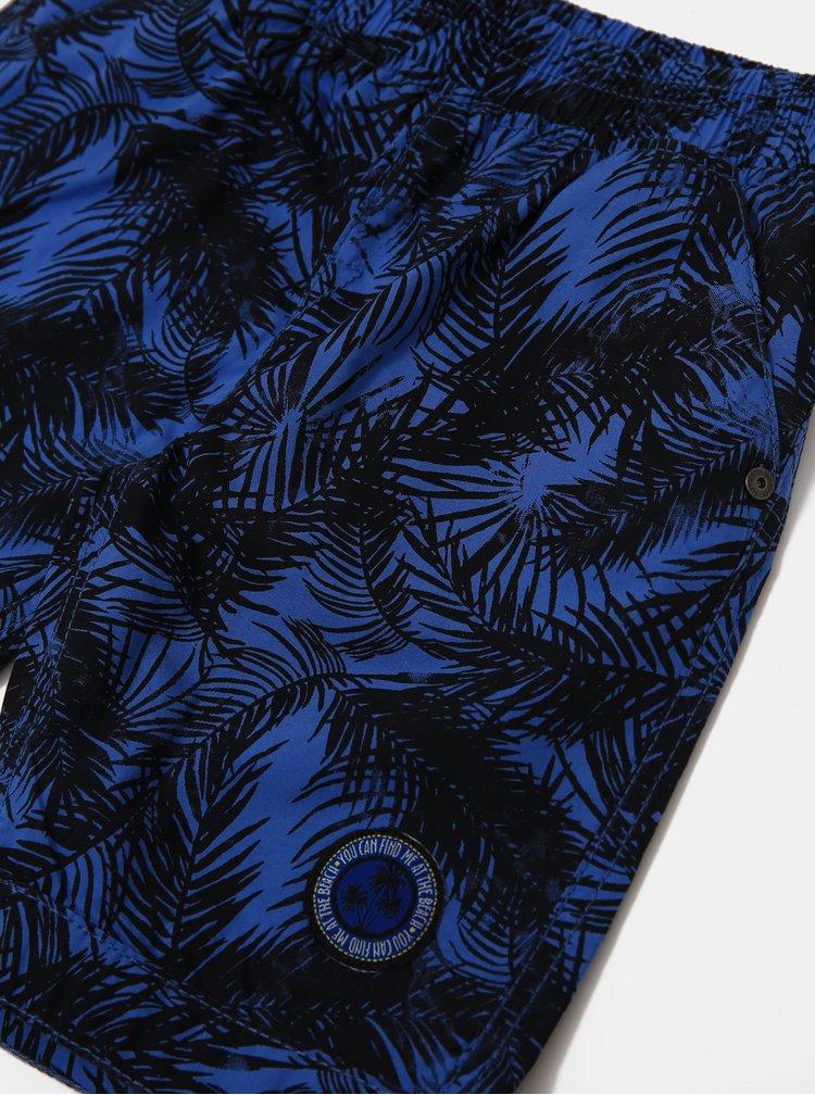 Modré klučičí plavky Blue Seven