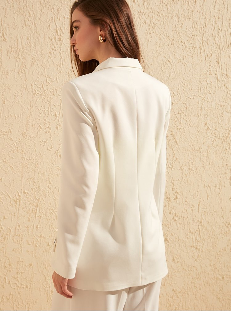 Sacouri si blazere pentru femei Trendyol - alb