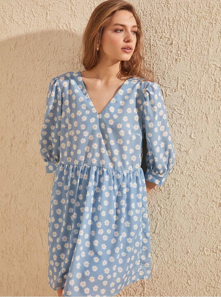 Rochii casual pentru femei Trendyol - albastru deschis