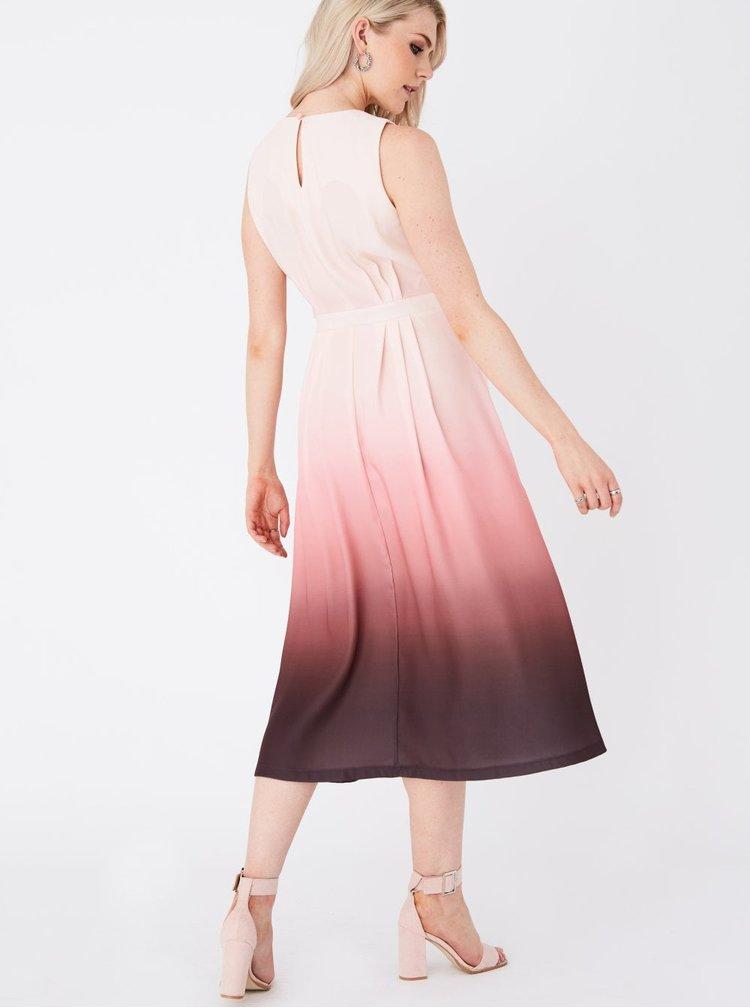 Růžové šaty Paper Dolls