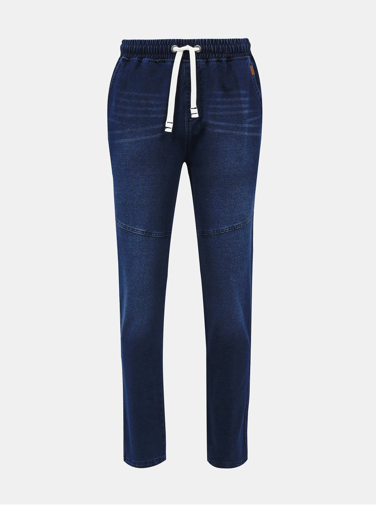 Tmavě modré pánské kalhoty SAM 73