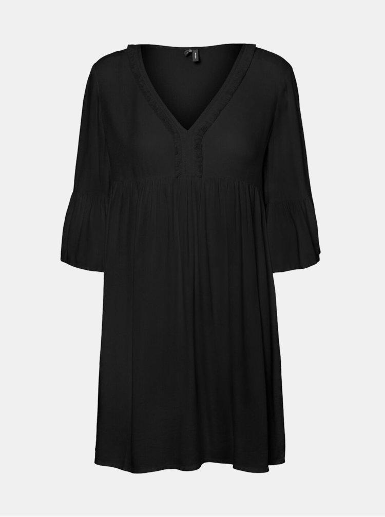 Černé šaty VERO MODA Nelly