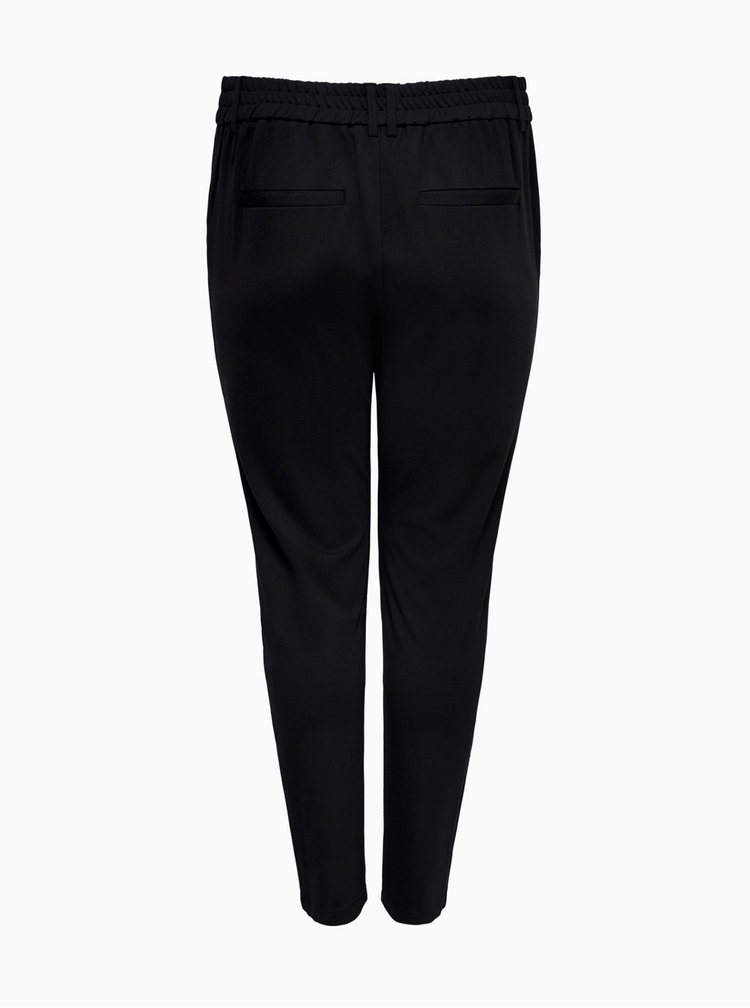 Čierne nohavice ONLY CARMAKOMA Goldtrash