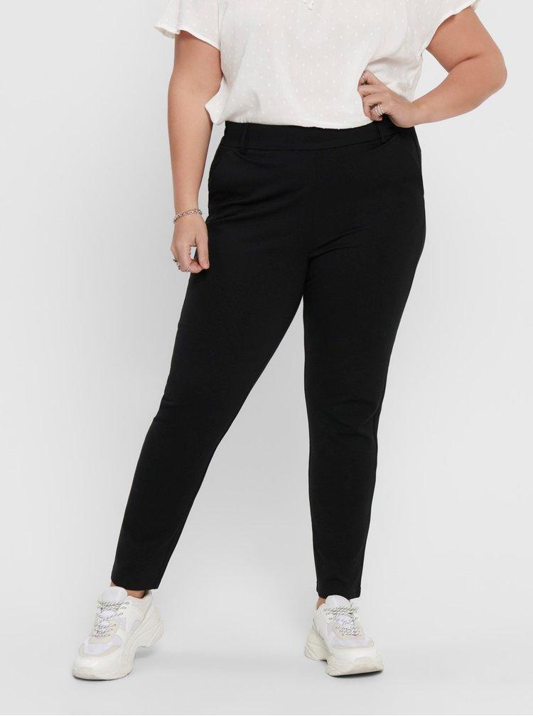 Černé kalhoty ONLY CARMAKOMA Goldtrash