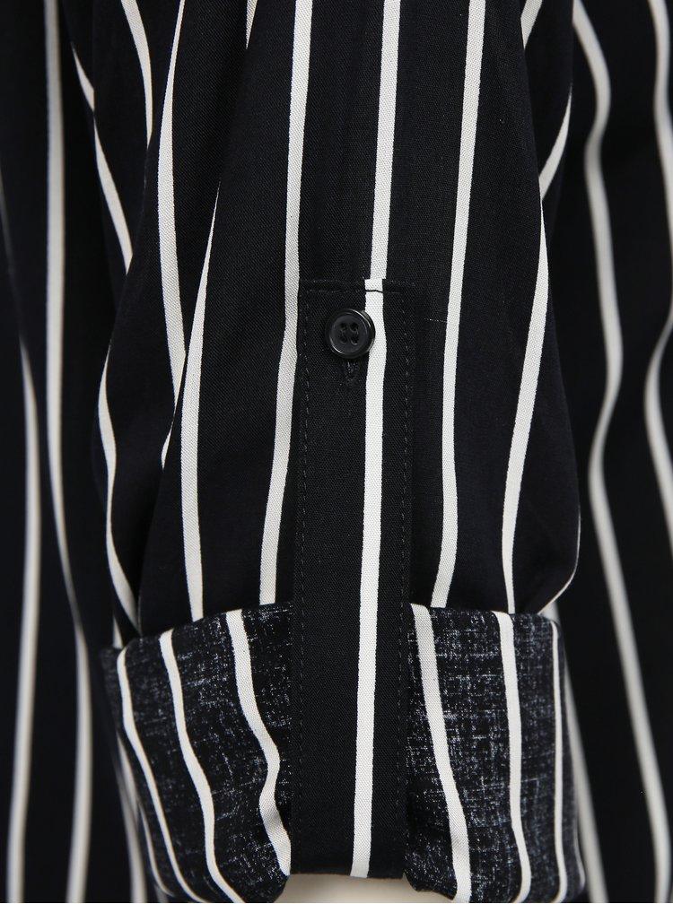 Tmavě modrá dámská pruhovaná košile ZOOT Bryony