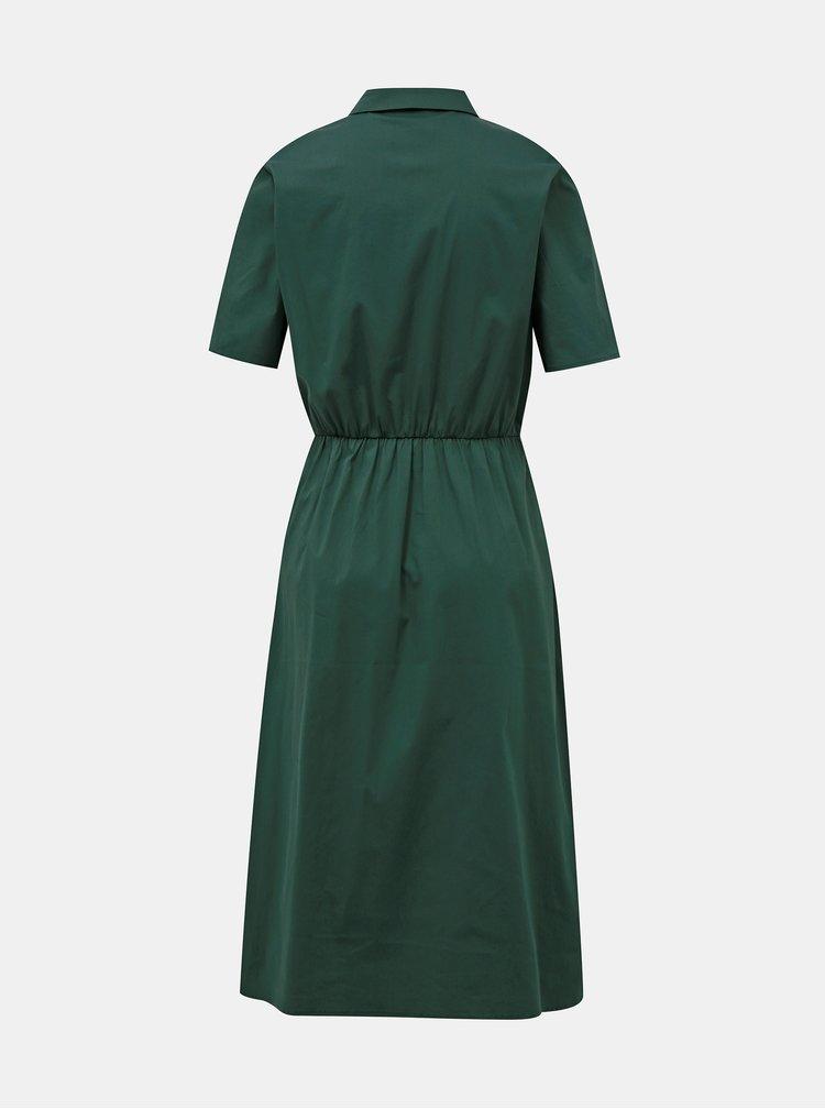 Zelené košilové šaty VILA
