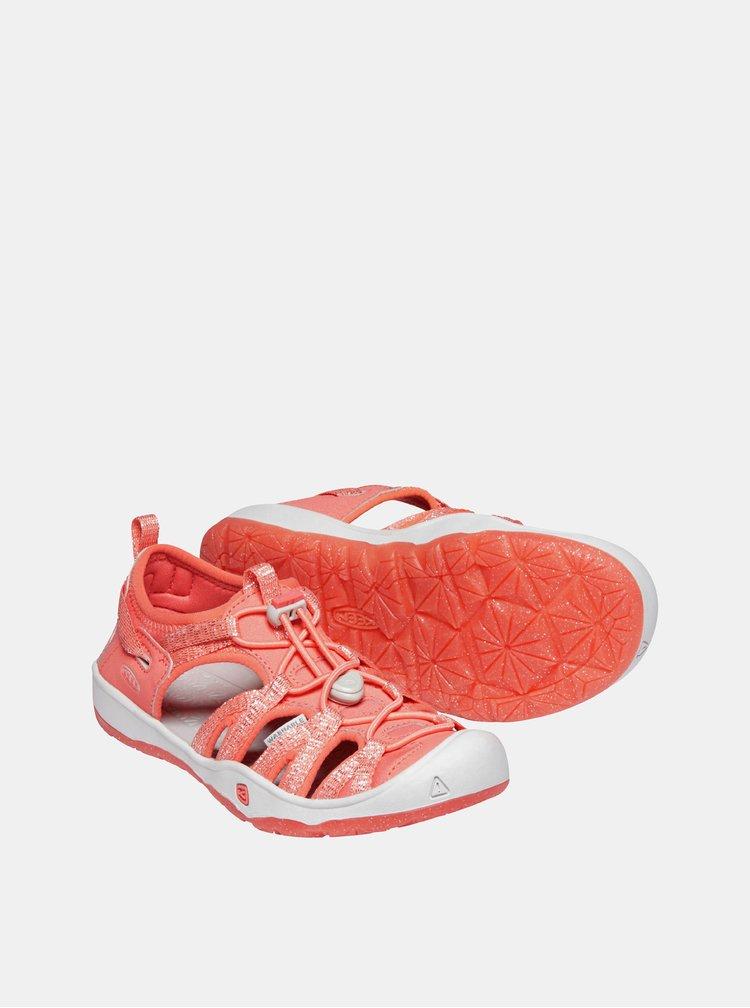 Korálové holčičí sandály Keen Moxie Y