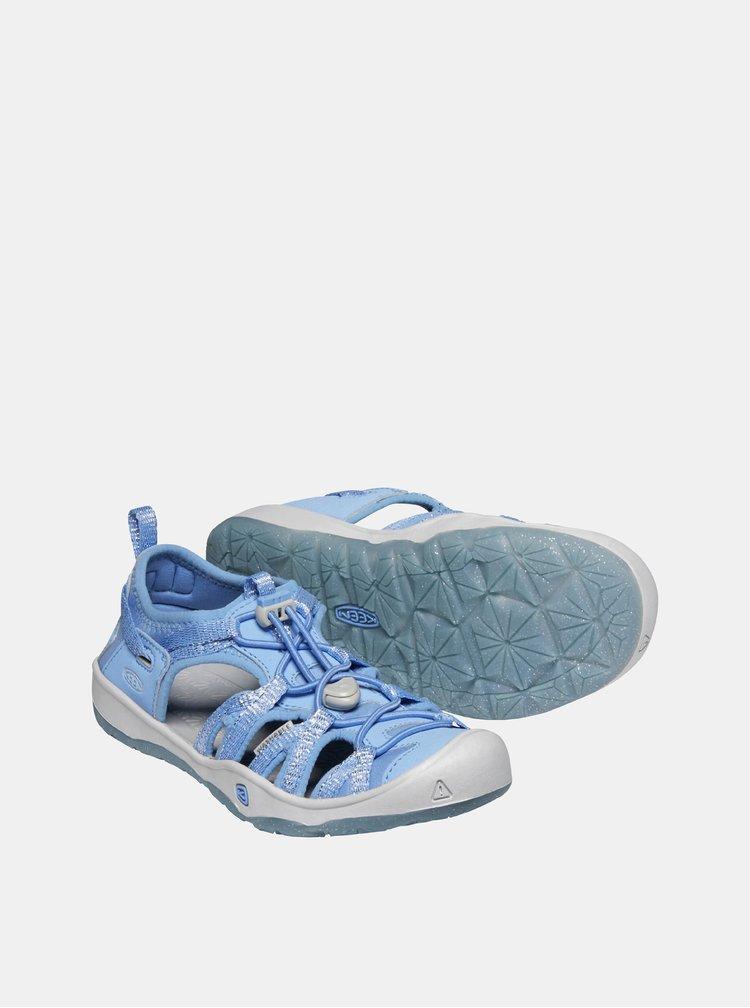 Světle modré dětské sandály Keen Moxie Y