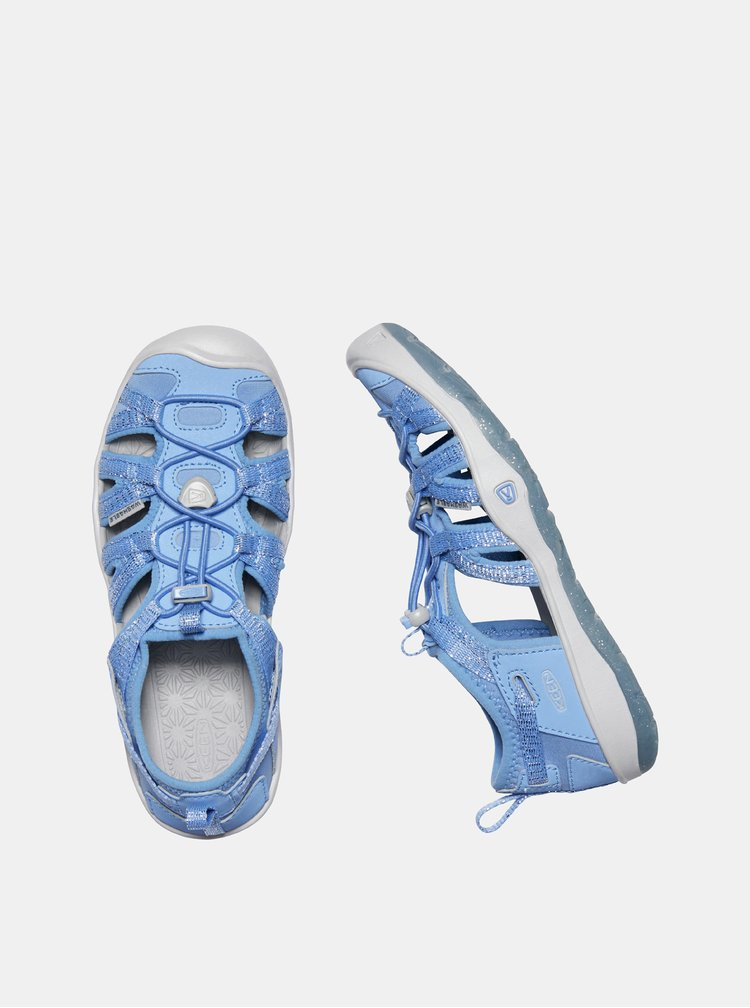 Světle modré holčičí sandály Keen Moxie  C