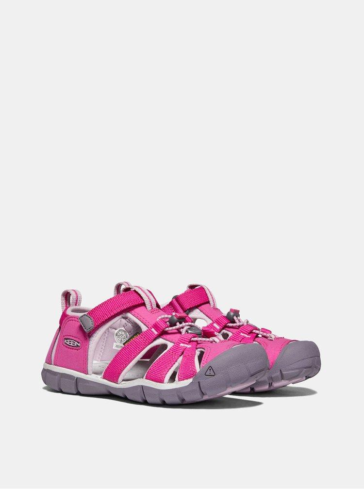 Ružové dievčenské sandále Keen Seacamp II CNX C