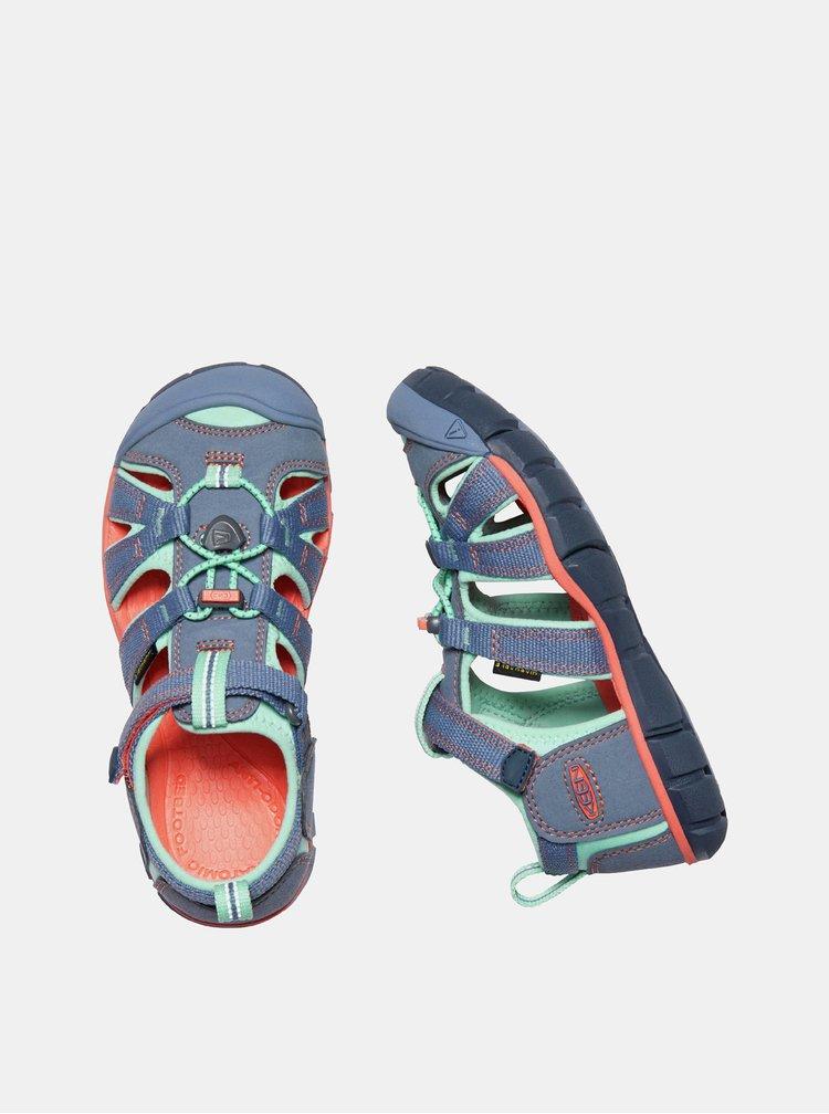 Modré dětské sandály Keen Seacamp II CNX Y