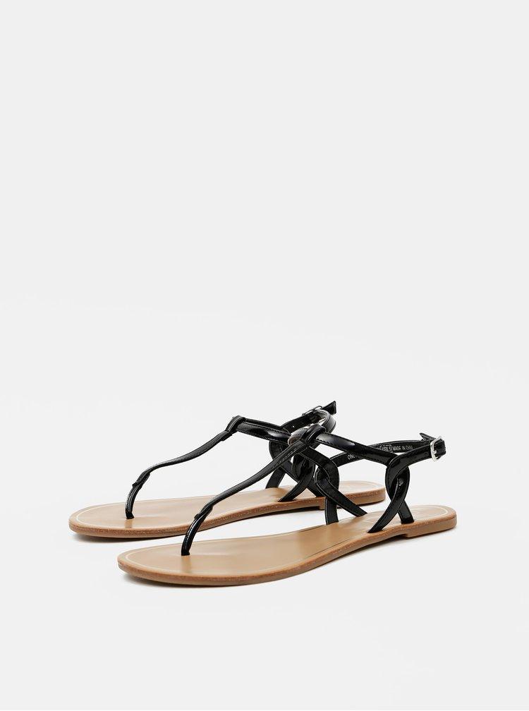 Černé sandály ONLY Margit