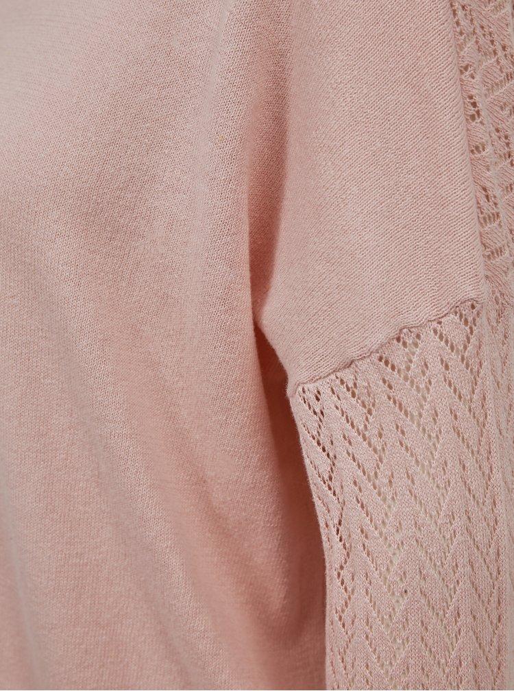 Růžový svetr ONLY Eden