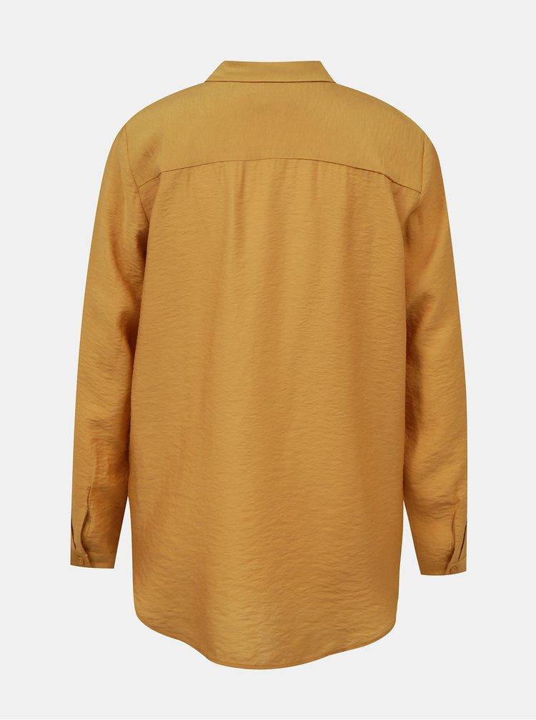 Horčicová dámska košeľa ZOOT Bobie