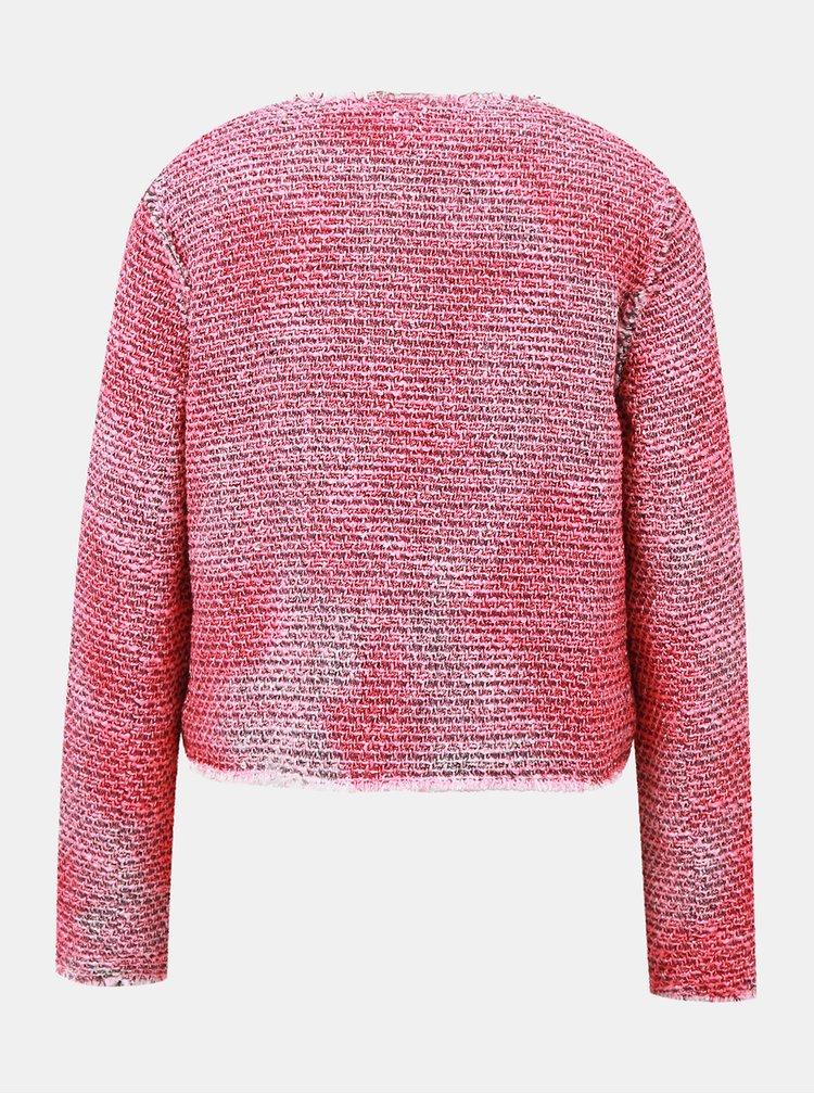 Růžové dámské sako s.Oliver