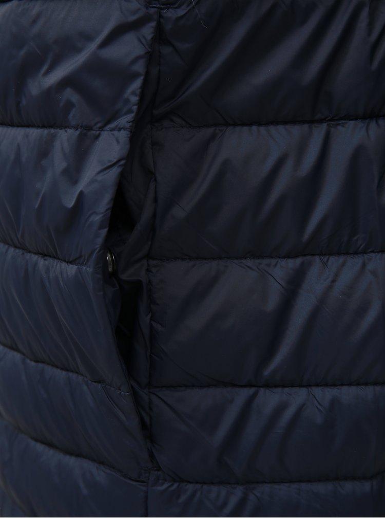 Tmavomodrá prešívaná bunda Jack & Jones