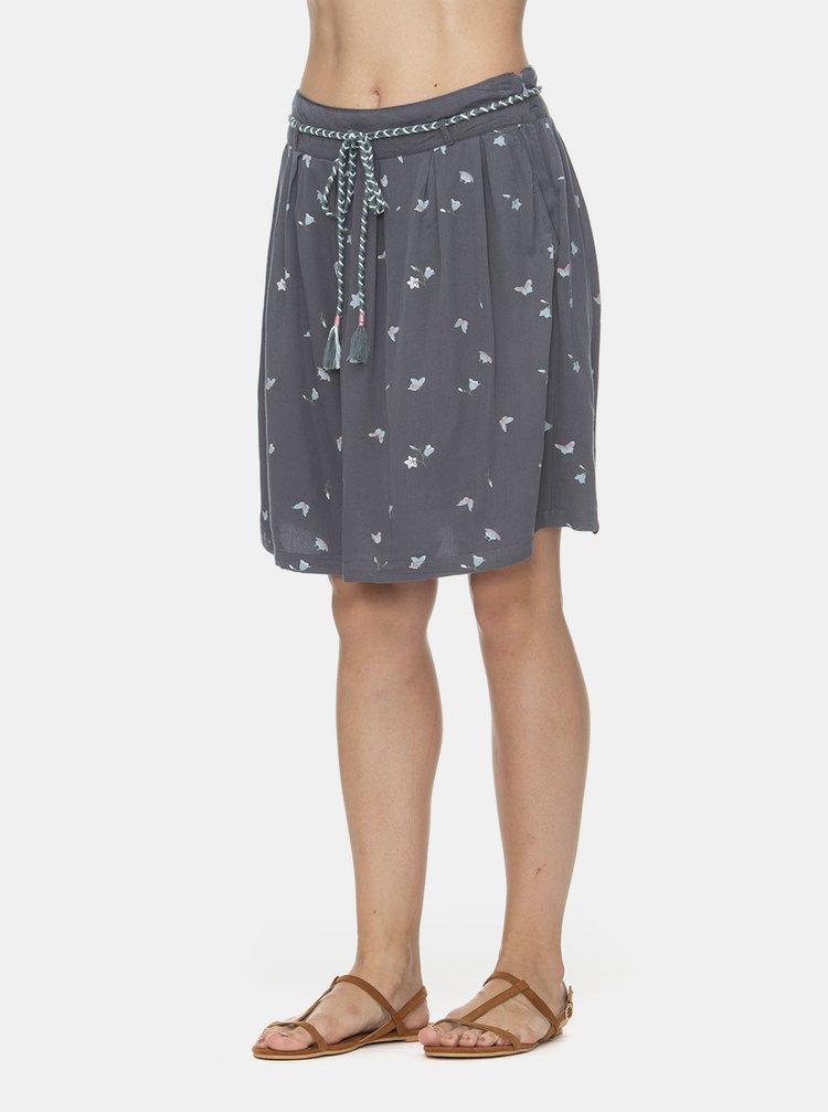 Šedá vzorovaná sukně Ragwear