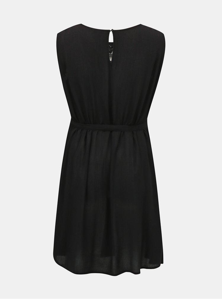 Černé šaty s krajkou ONLY CARMAKOMA