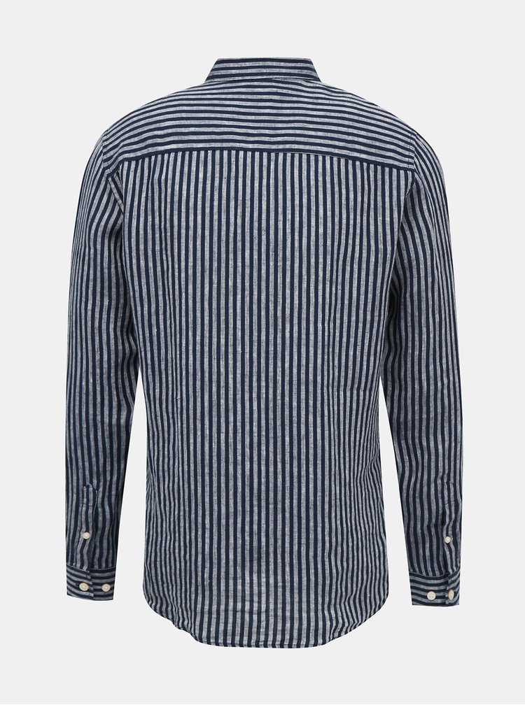 Camasi casual pentru barbati ONLY & SONS - albastru inchis
