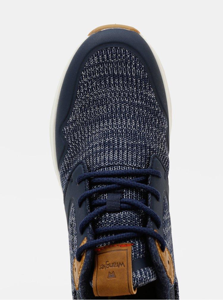 Tenisi, espadrile pentru barbati Wrangler - albastru inchis